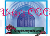 My dragon logo for my business, Betsys CGC