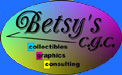 Betsys CGC oval logo, multicolored